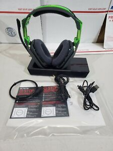 ASTRO Gaming A50 Wireless Dolby Gaming Headset Black/Green Xbox PC Working Great
