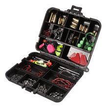 22 Compartments Fishing Tool Set Tackle Box Full Loaded Lure Bait Hooks Sinkers