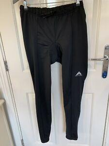 Mens Altura Cycling Padded Trouser Leggings Black Size Large L