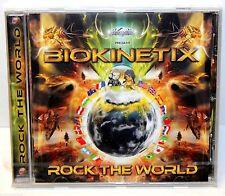 GeomagneticTV Presents - BIOKINETIX : ROCK The WORLD - Dance/Elect CD (2012) NEW