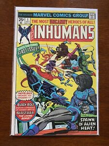 Inhumans #1 (1975, FN)