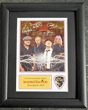 AC/DC Preprinted Autograph & Guitar Pick Display Mounted & Framed #2