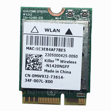 DELL ALIENWARE 15 17 Killer N1420NGFF 802.11ac + BT 4.0 WIFI WLAN Card 0MW9J2