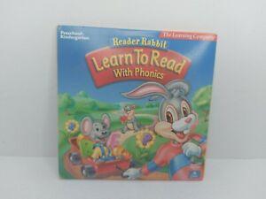 Reader Rabbit Learn to Read with Phonics Preschool & Kindergarten 4 CD Set