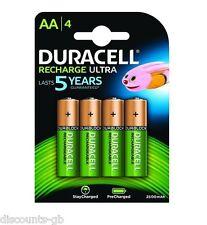 4 Duracell Aa 2500 Mah Ultra Pilas Recargables - 4 Pack sustituye 2400