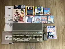 Atari ST 520 ST (upgraded to 1Mb) Vintage Computer With Mouse & Manuals & Games