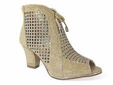Women Evening Dress Shoes Rhinestones Boots High Heels Platform Wedding Net