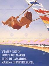 Viaggi TURISMO MARINA linea Pietra ITALIA MARE SPIAGGIA MONTAGNA ARTE POSTER cc4425