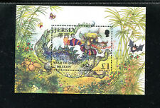 JERSEY 934, 2000 YEAR OF THE DRAGON, S/S, MNH (JER012)