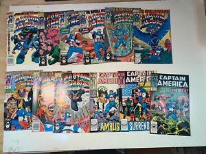 CAPTAIN AMERICA LOT 12 comics #329-398 VF-/VF+