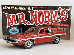 MR. NORM'S 1970 Dodge Challenger R/T 440 6 Pack Red 1 Of 150