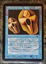 Magic MTG Copy Artifact ALPHA front and back EX+ mox black lotus dual land beta