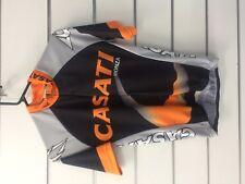 Casati S/S Jersey Size S Orange/Black