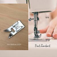 Pied machine,pied de biche standard, universel pour machine à coudre