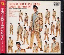 ELVIS PRESLEY 50,000,000 Elvis Fans- JAPAN 1st Press CD 1985 RPCD1005 W/Obi