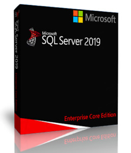 Microsoft SQL Server 2019 Standard 8 Core License, Unlimited CALs, with ISO