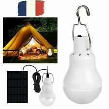 Portable solaire LED Ampoule Lampe extérieur Camping Tente Pêche Éclairage
