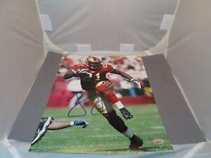 Frank Gore Signed San Francisco 49ers 11x14 Photo Autographed PSA/DNA COA 1A