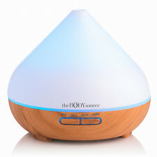 The Body Source® 300ml Aroma Diffuser for Essential Oils with 7 Colour LED Light