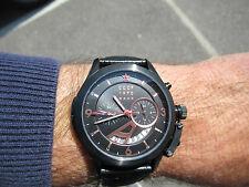 RUSSIAN DESIGN CCCP GMT 24 HOUR SHCHUKA SUBMARINE BLACK PVD CP-70011-06,RRP £350