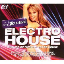638 // CLUB ELECTRO 2009 COFFRET 3 CD NEUF 56 TITRES