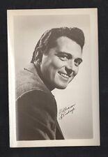 William Bishop 1940's 1950's Actor's Penny Arcade Photo Card