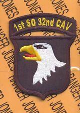 1st Sq 32nd CAV 101st Airborne Div Air Assault patch