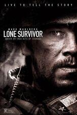 Lone Survivor DOUBLE SIDED ORIGINAL MOVIE film POSTER Advance Mark Wahlberg