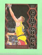 1995  FUTERA AUSTRALIAN  BASKETBALL CLUTCHMEN  CARD CM14  CAMERON DICKINSON