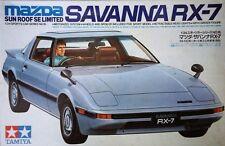 Rare and Out Of Print - Tamiya 1/24 Savanna RX-7 SE Limited SA22C