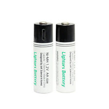 Lightors Battery : The world's first Micro-USB rechargeable batteries.[LIGHTORS]