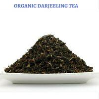 CERTIFIED ORGANIC 200 GRAM LOOSE DARJEELING TEA - BLACK TEA - HEALTHY TEA