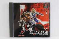 Guilty Gear Fukkokuban W/ Spine Reg Card PS1 PS 1 PlayStation Japan Import P1210