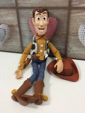 """Toy Story Original Woody Pull String """"Snake in my Boot"""" Figure Talking 15"""""""