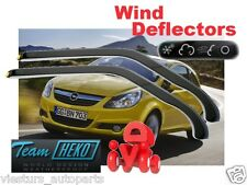 OPEL /GM / VAUXHALL CORSA D 2006 - 2014  3.doors Wind deflectors 2.pc HEKO 25364