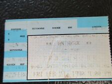 Anthrax, Reverend, at Troubadour 2/23/1990 ticket stub