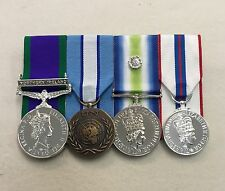Northern Ireland, UN Cyprus, Falklands, Silver Jubilee Full Size Mounted Medals