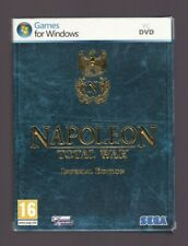Napoleon - Total War - Imperial Edition - Win PC DVD - 2 Disc - Includes Manual