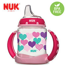 Baby Toddler Infant Silicone Spout Learner Sippy Cup 5 Ounce 6+ By Nuk Hearts