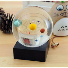 Astronomical Gift Galaxy 8 Planets Solar System Planet Crystal Ball Decor 4732HC