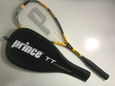 Prince Squash Racquet Racket TT Technology With Case 160 Grams 33.5 cm Balance