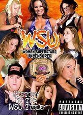 WSU Womens Wrestling - History of the WSU Title DVD Talia Madison Velvet SKy TNA