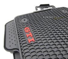 4x Original VW Monster GTI Gummi Fußmatten Matten SET für VW Golf 7 VII