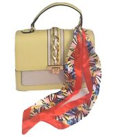New ALDO Women's Handbag ANNIEBROOK Pale Green Crossbody With Scarf