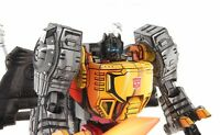 Custom Transformers Devastation Cel Shaded Masterpiece Grimlock Mp-08 G1