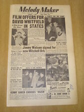 MELODY MAKER 1955 JANUARY 1 DAVID WHITFIELD JIMMY WATSON KAY STARR EDMUNDO ROS
