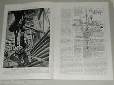 1941 magazine articles on Oil & Petroleum, color photos