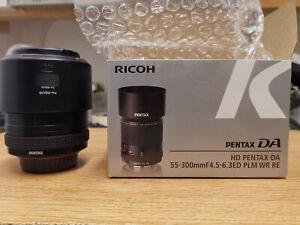 PENTAX HD DA 55-300mm F/4.5-6.3 PLM WR RE ED Lens