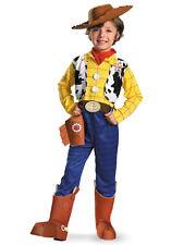 Woody Deluxe Disney Pixar Toy Story Book Week Fancy Dress Up Boys Costume S