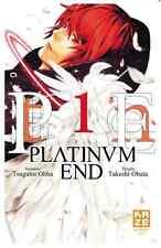 manga Platinum End Tome 1 Shonen Up Takeshi Obata Tsugumi Obha Kaze Jump Square